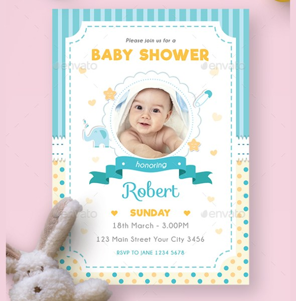 Perfect Baby Shower Party Invitation