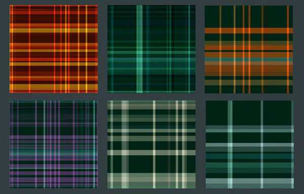 Plaid Seamless Tileable Pattern