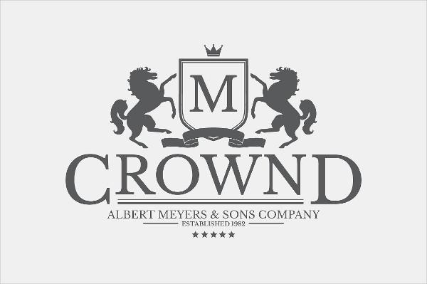 Unique Crest Logo Template