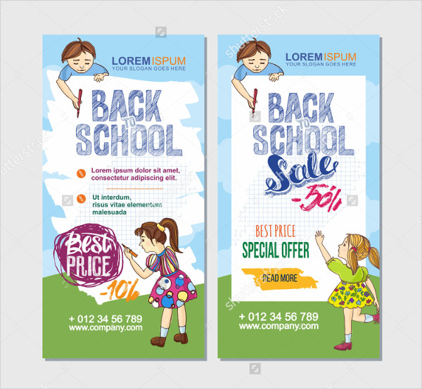 Advertising Back To School Flyers