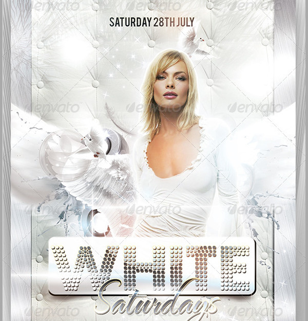 Saturdays Party Flyer Template