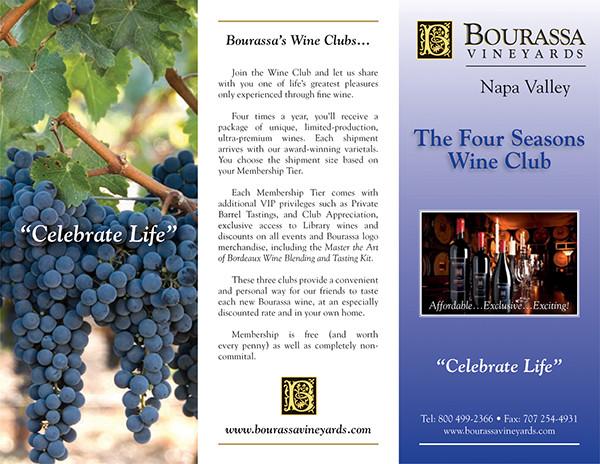 Four Seasons Wine Club Brochure
