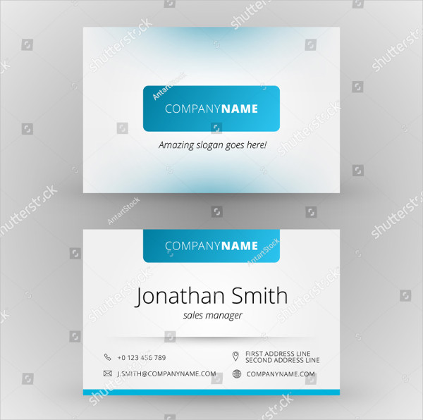 Abstract Global Business Card