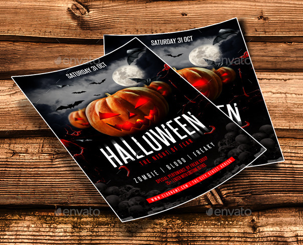 Halloween Night Flyer Template