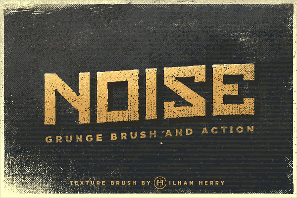 Noise Grunge Brush Set
