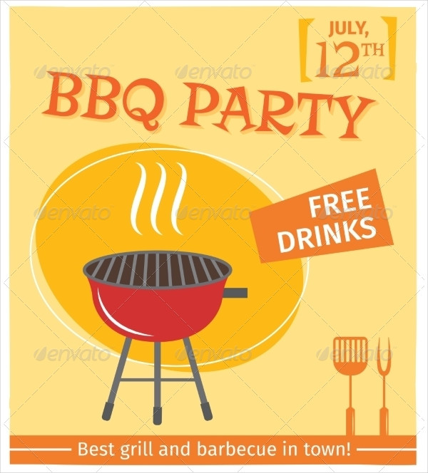 Perfect BBQ Grill Poster