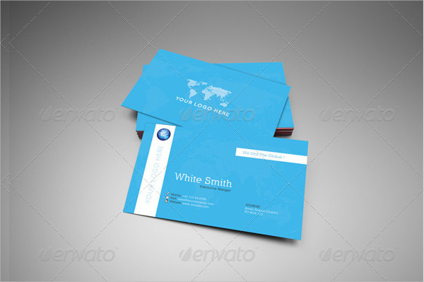 Professional Global Business Card Template