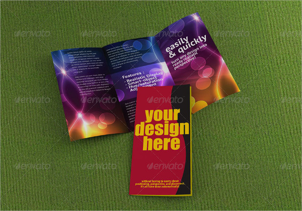 Professional Trifold Brochure Mock-Up