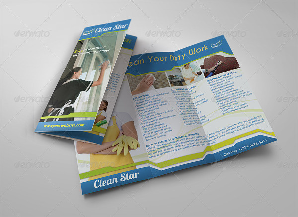 Restaurant Cleaning Services Brochure