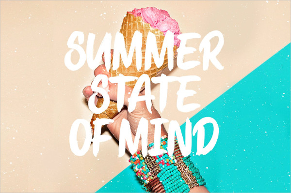Stay Summer Font Bold