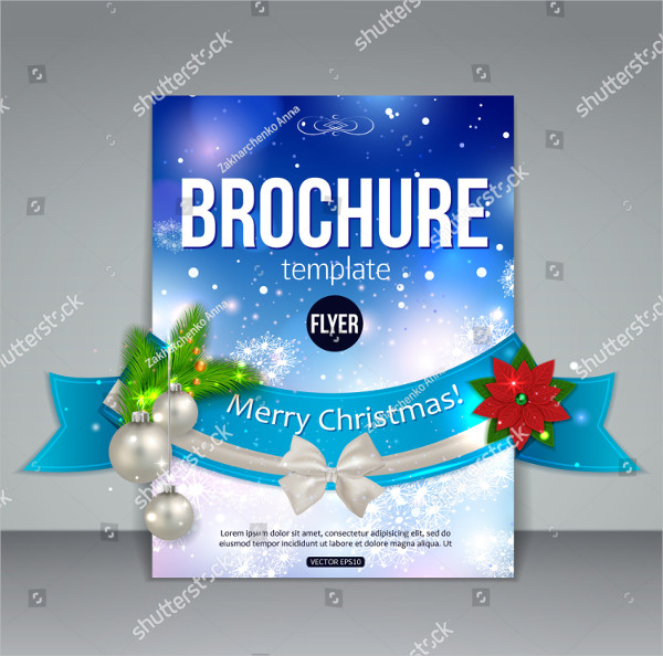 Abstract Christmas Brochure Template