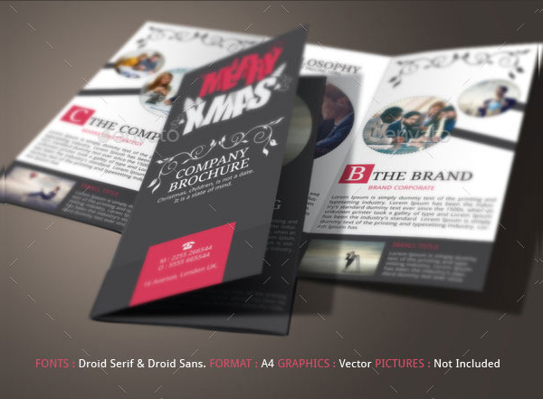 Corporate Christmas Brochure Examples