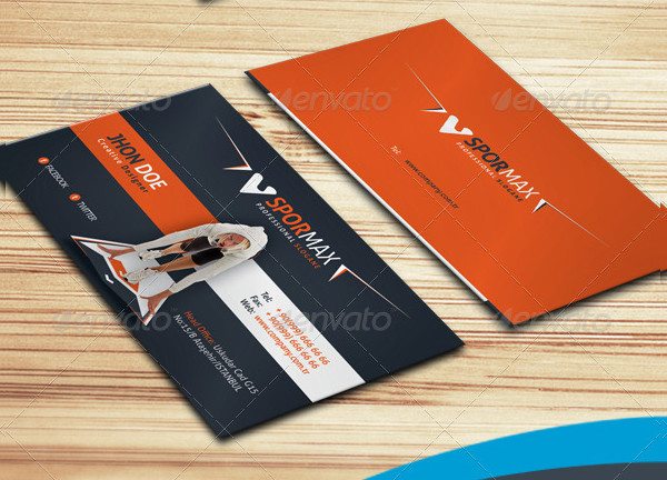 Corporate Sports Business Card Template