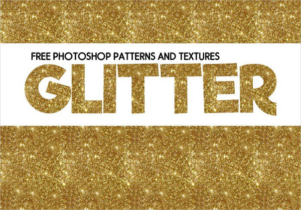 Free Patterns & Textures of Glitter