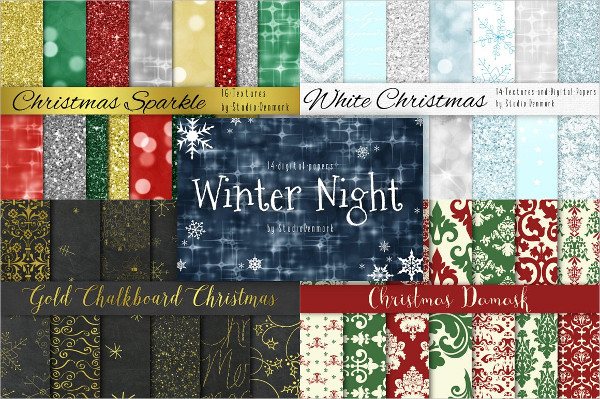 Huge Christmas Background Bundle