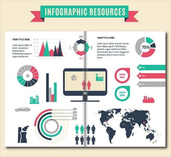 Infographic Resources Brochure Template Free
