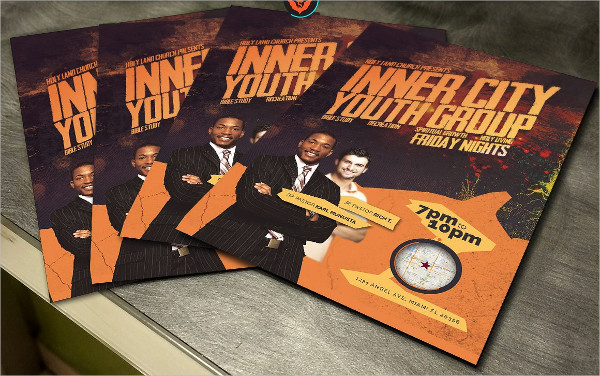 Popular Inner City Youth Group Flyer