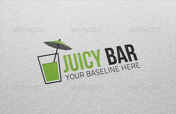 Juicy Bar Logo Design