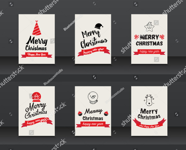 New Year & Merry Christmas Brochures