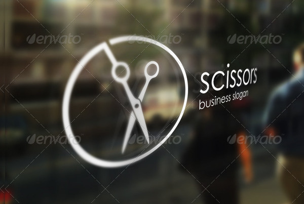 Fashion Barbershop Logo Template