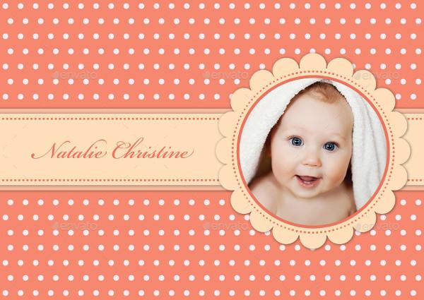 Simple Baby Photo Album Design