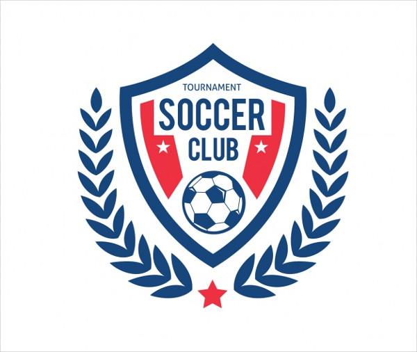 Soccer Club Logo Template Design Free