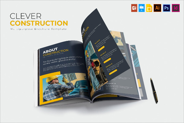 Clever Construction Promotion Brochure