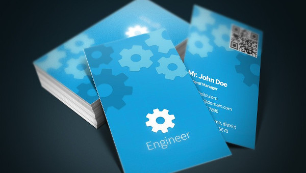 Engineer Business Card