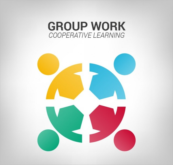 Group Work Logo Template Free Download