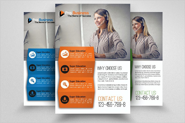 Management Consulting Business Flyer Template