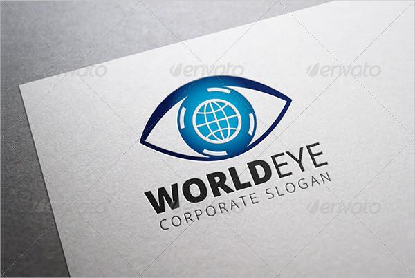 World Eye Logo Templates