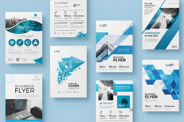 20 Corporate Double Sided Flyer Bundle