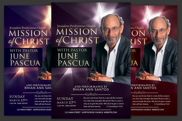 The mission of Christ Church Flyer