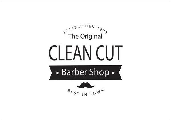 Awesome Barber Shop Logo Template Free Download
