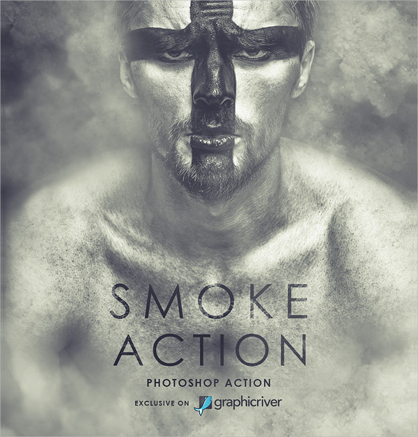 Perfect Smoke Photoshop Action