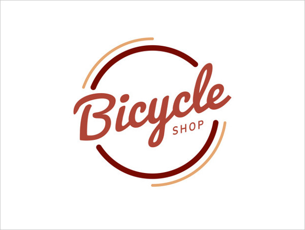 Bicycle Shop Logo Design Free Download