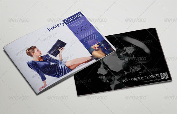 Professional Jewelry Brochure or Catalog Template