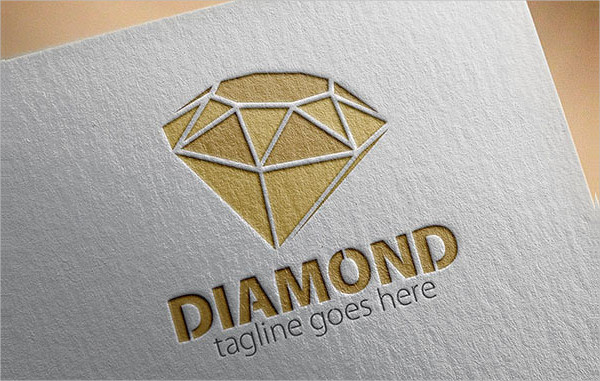 Brand Diamond Logo Template