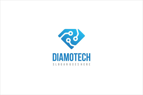 Diamond Tech Logo Design