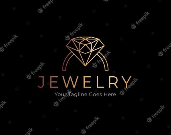 Elegant Golden Logo Free Download