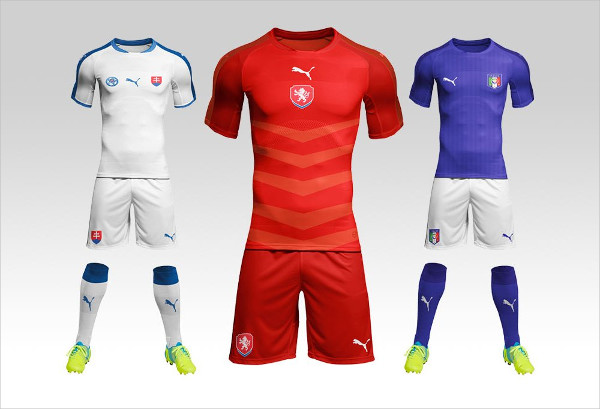 Football or Soccer Kit Mock-Up Free