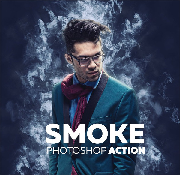 Professional Smoke Photoshop Actions