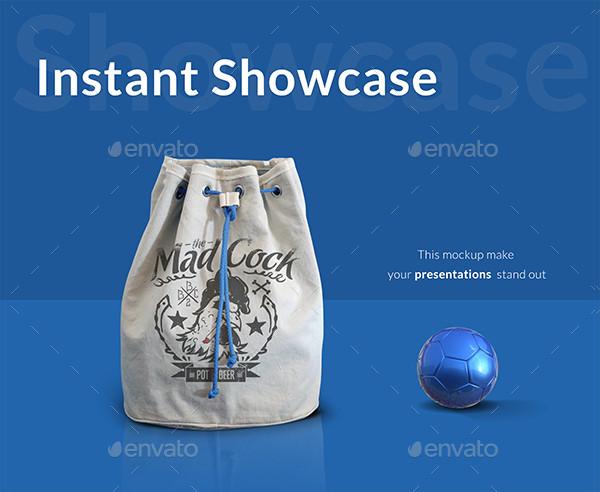 Modern Sports Bag Mockup