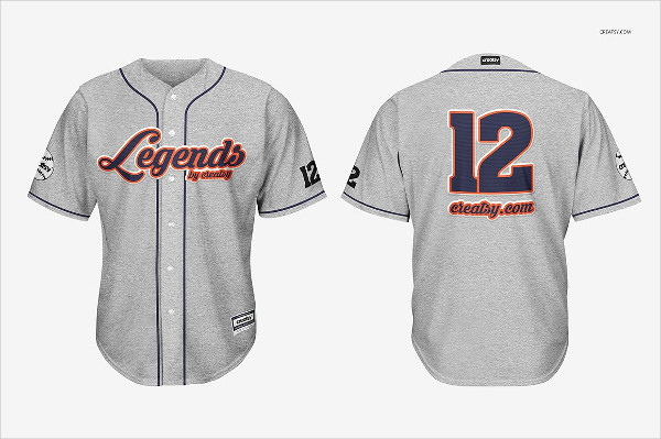 Perfect Baseball Jersey Mockups Set