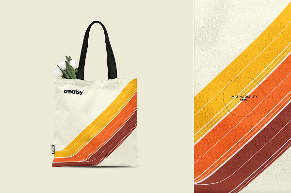 Printable Tote Bag Mockup