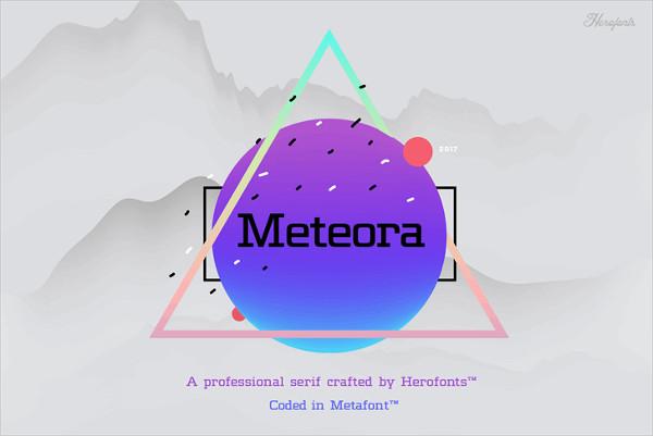 Professional Geometric Font Free Download
