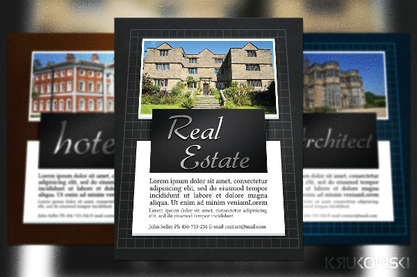 Real Estate Business Flyer or Poster Template