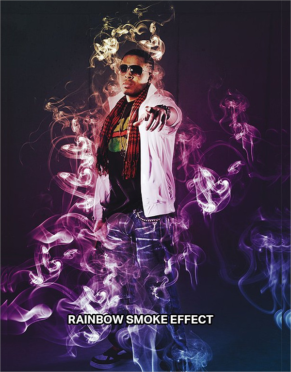 7 Super Smoke Effects Photoshop Actions