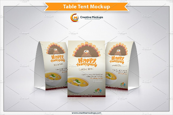 Thanksgiving PSD Mock-up Template
