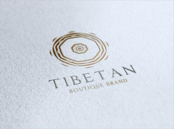 Tibetan Boutique Brand Logo Design